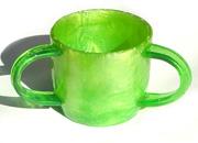 ACRYLIC WASH CUP - DUST 21081-b-d-gy.