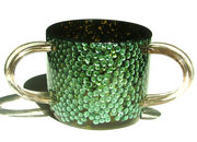 ACRYLIC WASH CUP - SEQUINS 21081-b-s6.