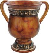 Dark Marble Washcup<br>(16 cm) 84317.