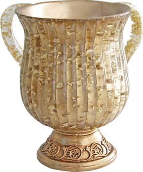 Gold Deco Washcup<br>(17 cm) 84455.