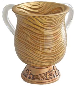 Gold Waves Washcup<br>(17 cm) 84462.