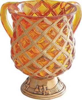 Gold Diamond Washcup<br>(17 cm) 84463.