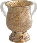 Gold Leaf Washcup<br>(17 cm) 84464.
