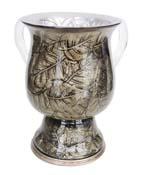 Silver Leafs Washcup<br>(17 cm) 85210.