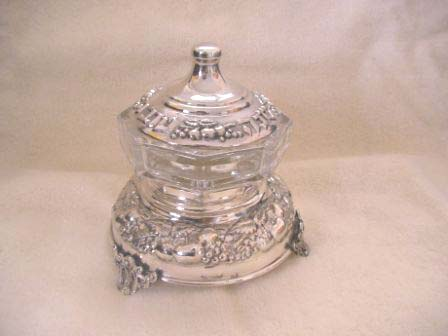 Sterling Silver Honey Dish (75 gr) ac01-75.