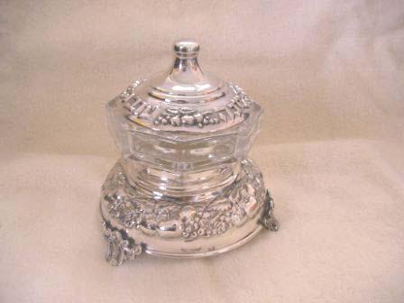 Sterling Silver Honey Dish (75 gr) ac01-75.