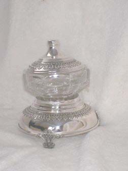 Sterling Silver Honey Dish ac02.