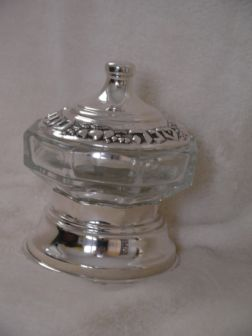 Sterling Silver Honey Dish ac03.