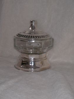Sterling Silver Honey Dish ac04.