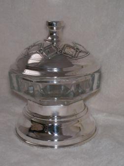 Sterling Silver Honey Dish ac05.