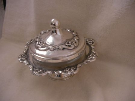 Sterling Silver Honey Dish (120 gr) amn01-120.