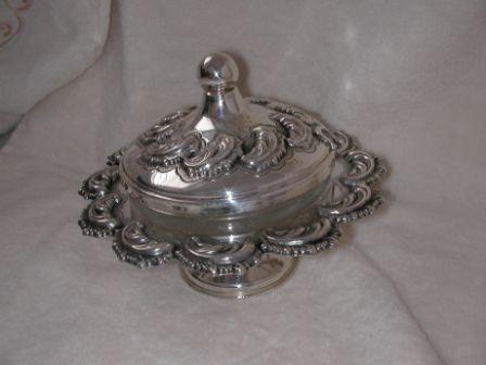 Sterling Silver Honey Dish (122 gr) amn02-122.