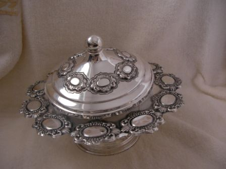 Sterling Silver Honey Dish (185 gr) amn05-185.