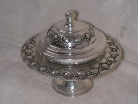 Sterling Silver Honey Dish (64 gr) cl01-64.