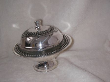 Sterling Silver Honey Dish (66 gr) cl02-66.