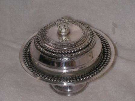 Sterling Silver Honey Dish (72 gr) cl03-72.