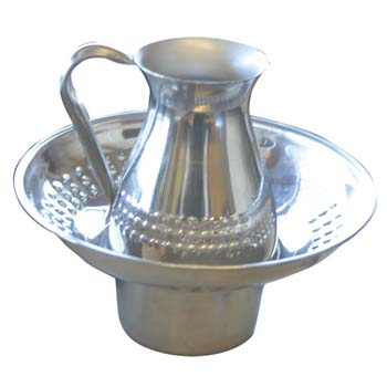STAINLESS STEEL MAYIM ACHRONIM SET ma-2.