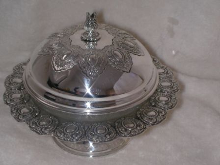 Sterling Silver Honey Dish (75 gr) ms01-75.