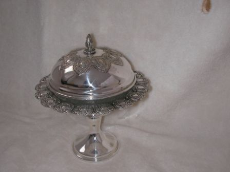 Sterling Silver Honey Dish (80 gr) ms02-80.