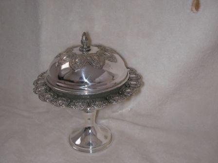 Sterling Silver Honey Dish (80 gr) ms02-80.