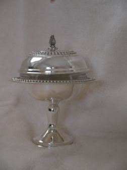 Sterling Silver Honey Dish (80 gr) ms03-80.