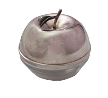 Sterling Silver Apple Honey Dish ssh003.