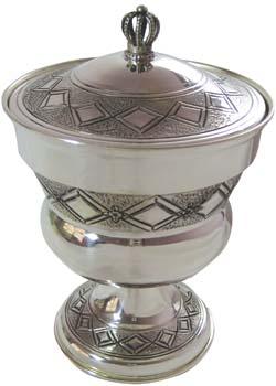 Sterling Silver Honey Dish sshb.